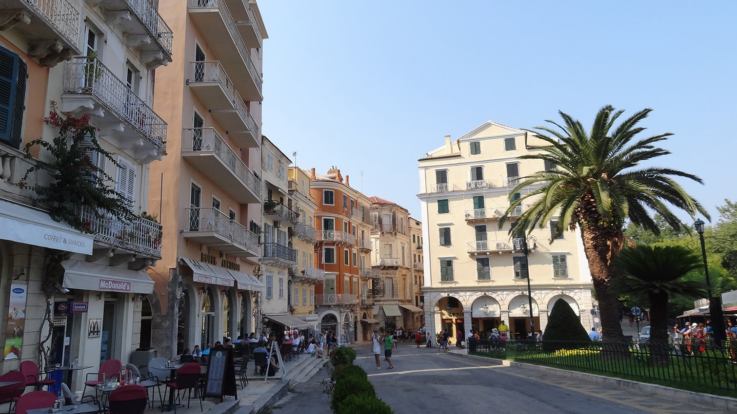 Achillion + Corfu town with Mon Repos